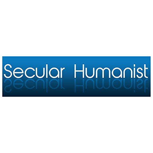 EvolveFISH Secular Humanist Bumper Sticker 11