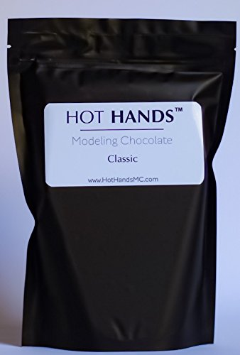 Premium WHITE Modeling Chocolate by Hot Hands Modeling Chocolate 2 POUND pack -