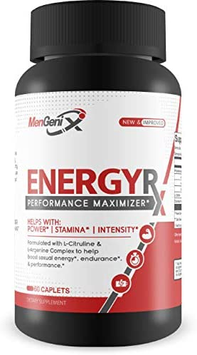 MenGenix- Energy Rx- Performance Maximizer- Power-Stamina- Intensity