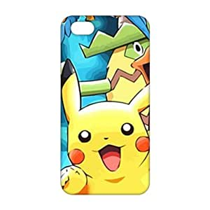 Evil-Store Pokemon alive world 3D Phone Case for iPhone 4/4s