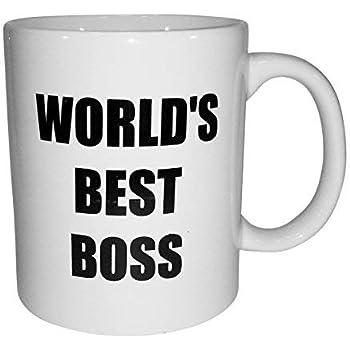 b33ed3fbf96 Amazon.com: Best boss ever - 11 OZ Coffee Mug - Funny Inspirational ...