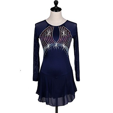 Heart Artistique amp;M Patinage Bleu Patinage Femme Marine Robes Robe de 6ZHgfq6