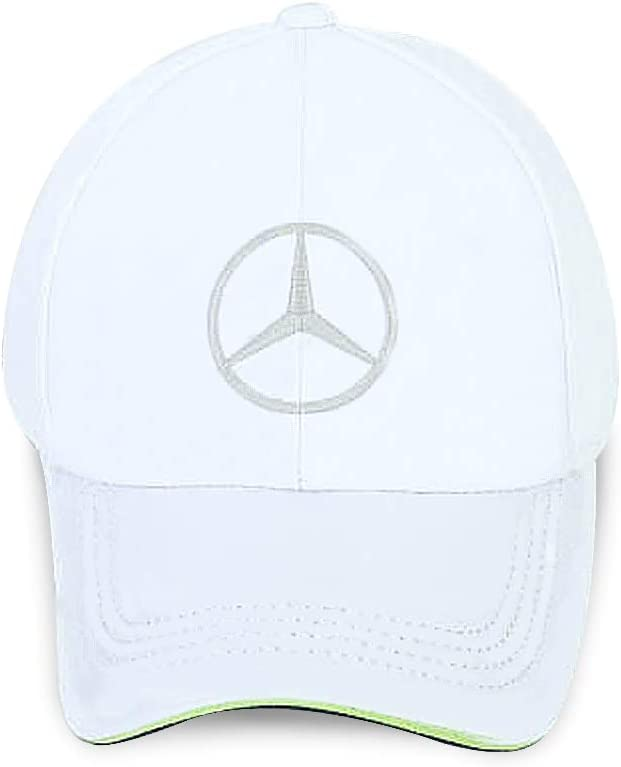 Wall Stickz BearFire Logo Embroidered White Color Adjustable Baseball Caps for Men and Women Hat Travel Cap Racing Motor Hat White,fit Maserati