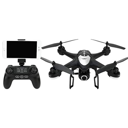 WANG XIN UAV Aerial Photography GPS Positioning Automatic Follow-up Automatic Return Remote Control Aircraft Quadcopter (Color : Black) by WANG XIN (Image #5)