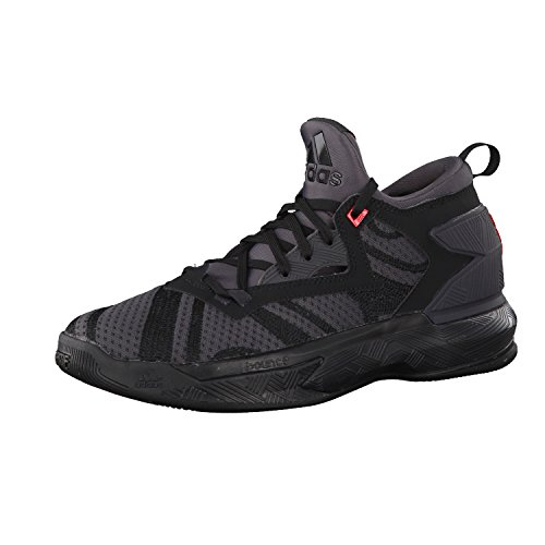 adidas Herren D Lillard 2 Basketballschuhe Black (Negbas / Neguti / Rojint)