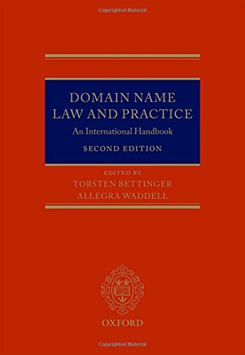 Domain Name Law and Practice: An International Handbook
