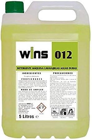 Vinfer Caja 4 Botellas Wins 012. Detergente máquinas lavavajillas ...