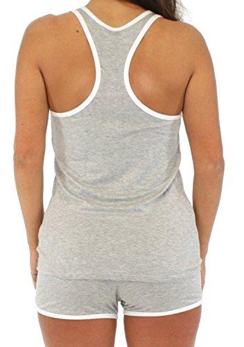 Pajama Heaven - Pijama - para mujer gris