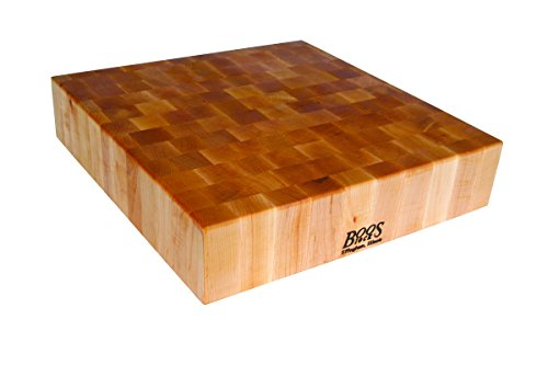 John Boos Block BB03 Classic Reversible Maple Wood End Grain