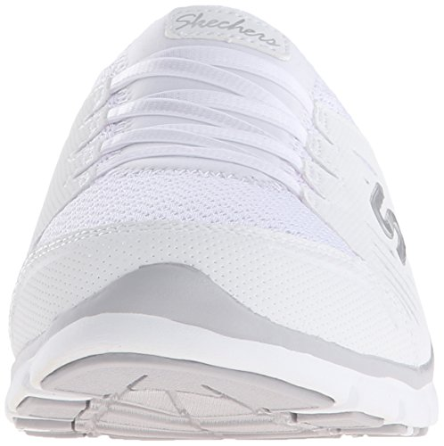 Skechers Sport No on Limits Slip-Mule Sneaker Blanco
