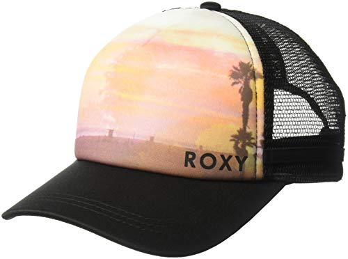 Roxy Women's Dig This Trucker Hat, True Black, 1SZ (Roxy Hats For Women)