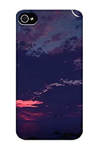 New Fashion Premium Case Cover For Iphone 4/4s - Moonlit Scenery Case For New Year's Day's Gift