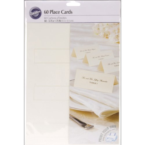 Gold Border Place Cards - 1