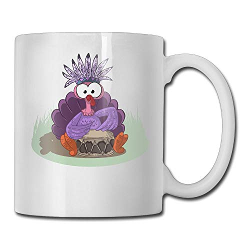 AiguanHalloween Turkey 11oz Tea Cup Coffee Mug -
