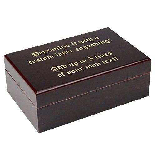 Engraved Cigar Humidor - 8