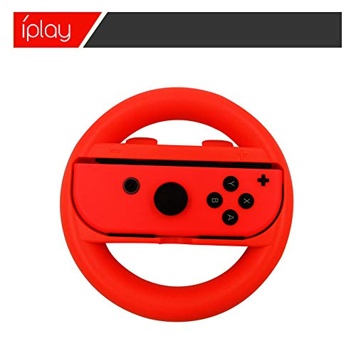 Switch Steering Wheel Switch Racing Wheel for Nintendo Joy Con Controller Handle by ABASSKY (Image #7)