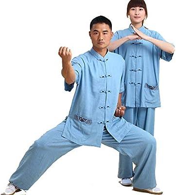 tai chi Ropa Wing Chun Suit Cómodo Y Transpirable Artes ...
