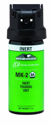 (Defense Technology Inert Stream MK-2 Pepper Spray (1.0-Ounce))