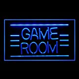 Game Room Pinball Video DVD Poker Display Accessible LED Light Sign 130011 Color Blue