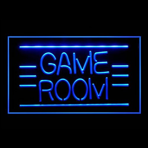 130011 Game Room Pinball Video DVD Poker Display LED Light Sign