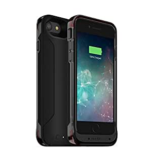 mophie juice pack FLEX battery case - iPhone 7 - Maximum Protection - ISO-FLEX - Wireless Charging - Slim - Up to 100% Extra Battery- Black