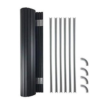 Tambour Door Kit Ideal (490mm wide x 650mm drop) for