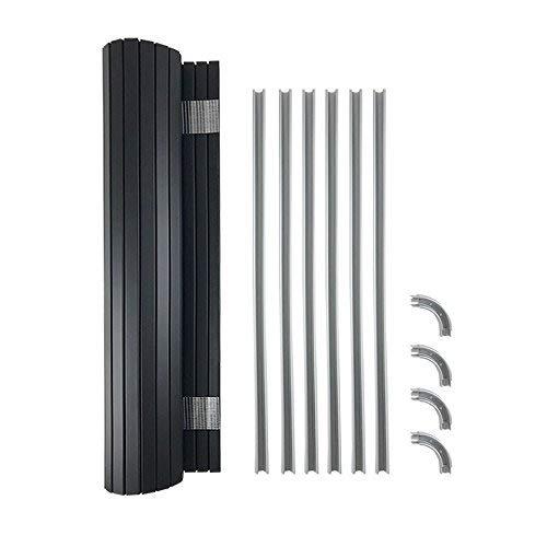 Kit de Puerta Tambour Ideal (640 mm de Ancho x 650 mm de caí da) para autocaravanas y Furgonetas de Cocina, se Adapta a la mayorí a de los Kits de Muebles de campervanos se Adapta a la mayoría de los Kits de Muebles de campervanos Kiravans