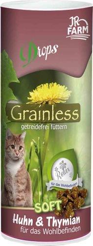 JR Cat Grainless Drops Huhn+Thymian 80g