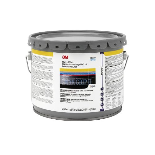 3M 05870 Mar Grip II Lightweight Body Filler Air Pail - 3 Gallon