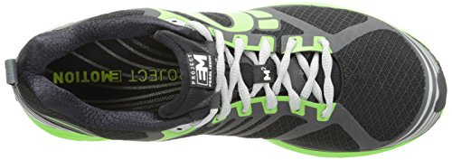 Pearl iZUMi Womens Em Trail M2 Trail Running Shoe Black/Grey SFPvkimZ