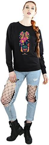 Marvel Damen Thor Ragnarok Character Totem Sweatshirt XX-Large Schwarz