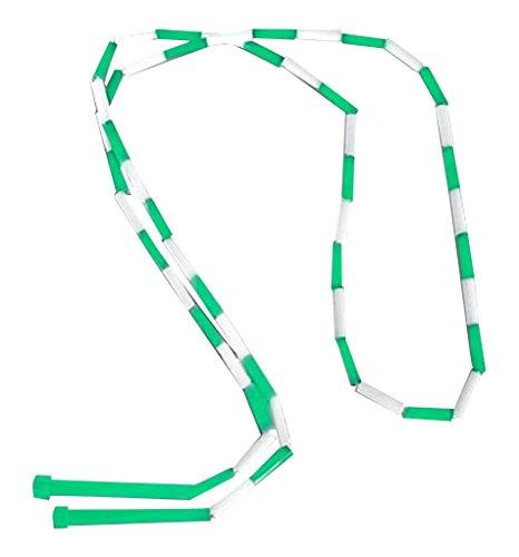 CSI Cannon Sports Segmented Jump Rope, Green/White