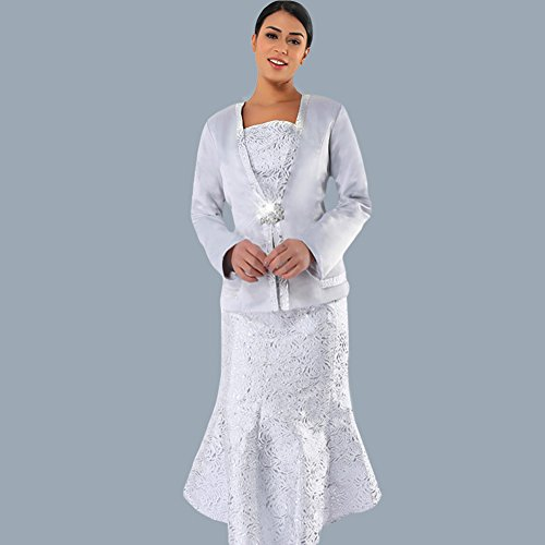 Kueeni Women Church Suits With Hats Church Dress Suit For Ladies Formal Church Clothes,Suits Only,020 by Kueeni (Image #1)