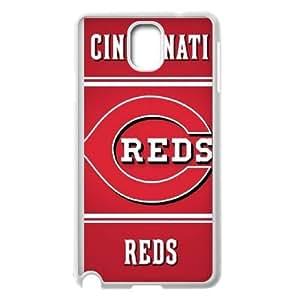 Cincinnati Red Samsung Galaxy Note 3 Cell Phone Case White LMS3831396