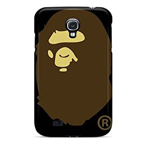 Scratch Resistant Hard Cell-phone Case For Samsung Galaxy S4 With Custom Stylish Bape Pattern JoanneOickle