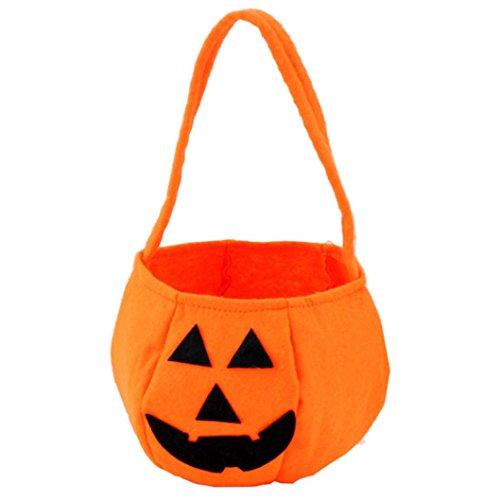 HCFKJ 2017 Mode Halloween LäCheln KüRbis Tasche Kinder SüßIgkeiten Tasche Kinder