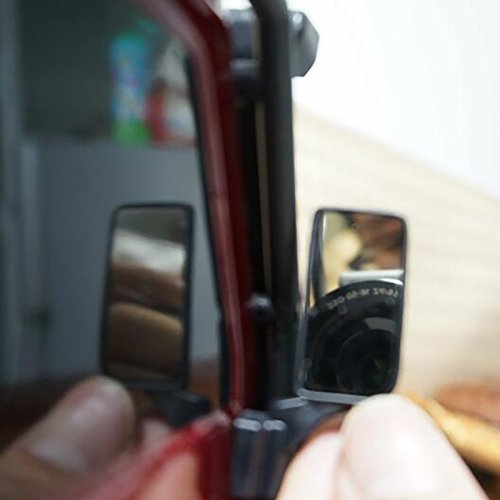 MOHERO RC Car Simulation Rearview Mirror Lens Reflector for Traxxas TRX-4 1//10 RC Crawler Car