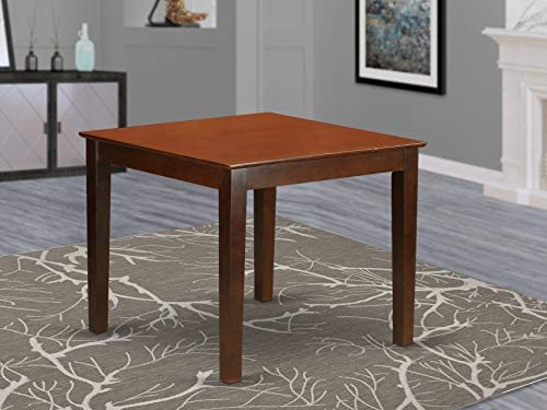 picture of East West Furniture OXT-MAH-T Oxford Wooden Dining Room