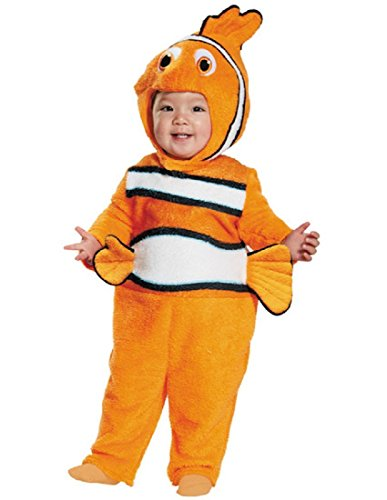Disguise Baby's Nemo Prestige Infant Costume, Orange, 12-18 -