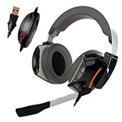7.1 virtual surround sound simulated 7.1 surround sound delivered via 50mm drivers.