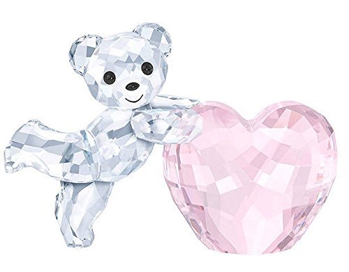 Kris Bear - Pink Heart Figurine