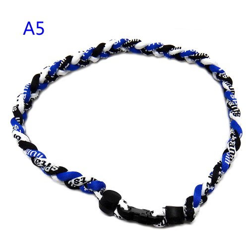 Leegoal Baseball Necklace Royal Black