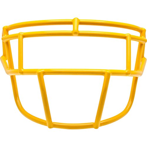 Schutt Sports Youth EGOP-YF Super Pro Carbon Steel Football Faceguard, Gold (Egop Face Mask)