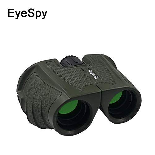EYESPY 10x25 Compact Binoculars, High Powered, High Definition, Foldable,...