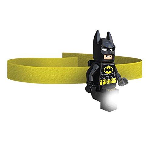 LEGO DC Batman Head Lamp | Adjustable Headband Fits All Sizes | Headlamp for Kids