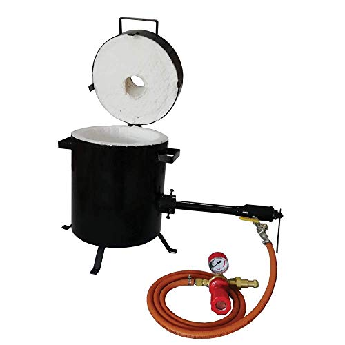 10 Kg Propane Melting Furnace Precious Metal Melting Gold Silver Copper Brass Bronze