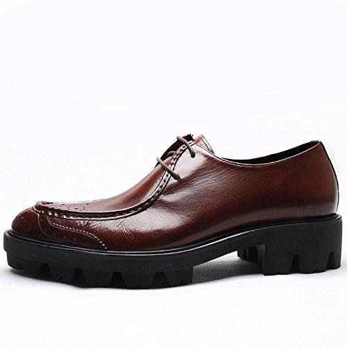 basse abbigliamento fibbia Classico comfort Moderne scarpe uomo casual per scarpe punta FEEf0q