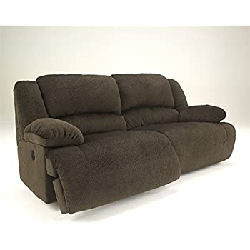 Ashley Furniture Signature Design - Toletta Power Recliner Sofa - 1 Touch Power Reclining - Chocolate  sc 1 st  Amazon.com & Amazon.com: Ashley Furniture Signature Design - Toletta Power ... islam-shia.org