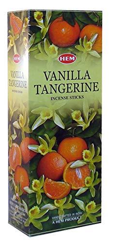 Hem Vanilla Tangerine Incense 120 Sticks by 4QuartersAndMore