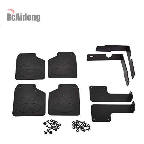 - RC TRX4 Front & Rear Mud Flaps Rubber Fender for 1/10 RC Crawler Traxxas TRX-4 82046-4 Ford Bronco Ranger XLT (Ford)